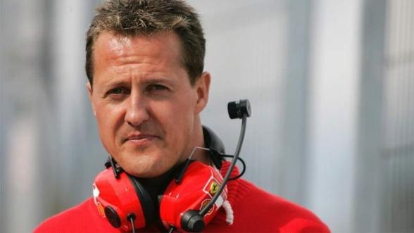 Michael Schumacher a fost constient in timpul transferului sau in Elvetia