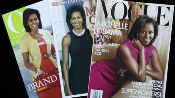 Michelle Obama, pe coperta Vogue