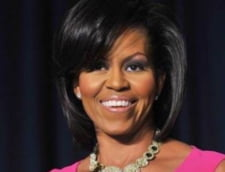 Michelle Obama danseaza cu un nap pentru a promova alimentatia sanatoasa VIDEO