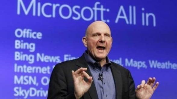 Microsoft a anuntat oficial reorganizarea companiei