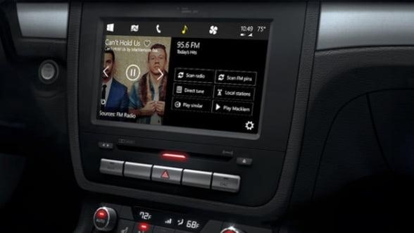 Microsoft a prezentat alternativa sa pentru Car Play