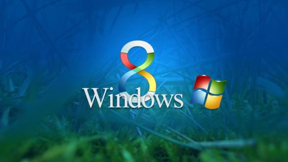 Microsoft a stabilit data lansarii Windows 8