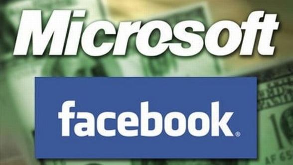 Microsoft castiga peste 1 miliard de dolari din listarea Facebook