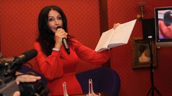 Mihaela Radulescu, gazda primei licitatii Artmark din Monte Carlo