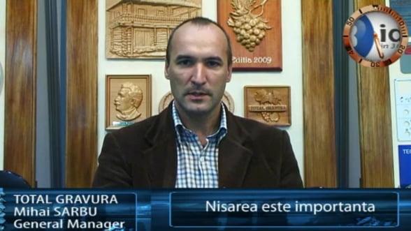 Mihai Sarbu, general manager Total Gravura