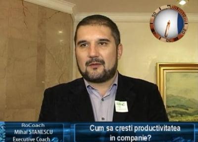 Mihai Stanescu, executive coach RoCoaching