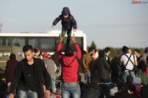 Mii de europeni au iesit in strada pentru imigranti: Refugiatii sunt bineveniti aici