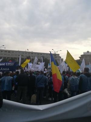 Mii de oameni protesteaza in Piata Victoriei: Nu mai vrem sa fim sclavi in tara noastra! (Galerie foto)