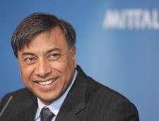 Miliardarul Lakshmi Mittal e in vizita de lucru la combinatul ArcelorMittal Galati