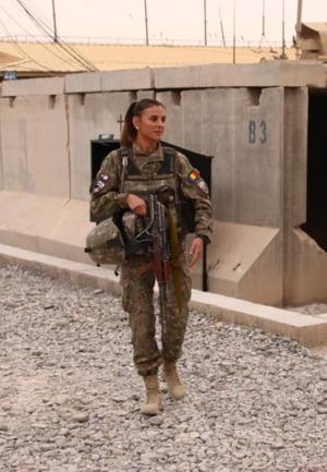 Militarii romani din Afganistan au votat dupa ce s-au intors din misiune, la baza din Kandahar