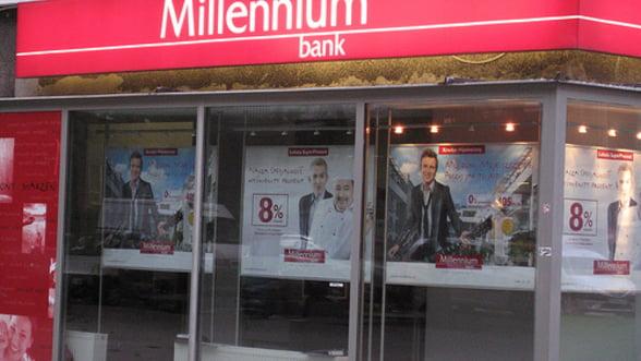 Millennium Bank Romania va fi scoasa la vanzare