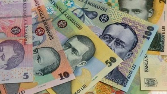 Ministerul Finantelor a imprumutat luni circa 507 milioane lei de la banci