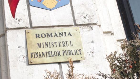 Ministerul Finantelor vinde titluri de stat in valoare de 2,5 miliarde lei in august