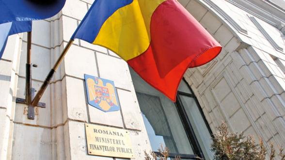 Ministerul Finantelor vrea sa imprumute 3,5 miliarde lei de la bancile locale