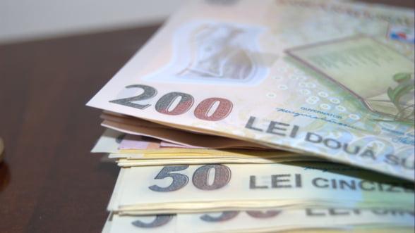Ministerul Finantelor vrea sa imprumute luni 500 de milioane de lei de la banci