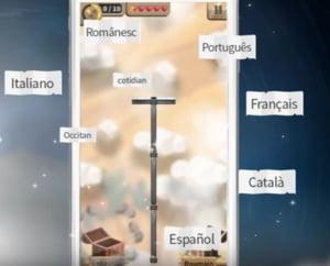 Ministerul francez al Culturii a lansat jocul video Romanica, dedicat limbilor romanice, printre care si romana