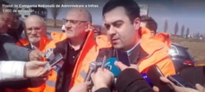 Ministrul Cuc se lauda ca revolutioneaza infrastructura, in ziua protestului #sieu: Autostrada Moldovei va fi gata la timp. Si toti constructorii se vor tine de treaba, de azi!