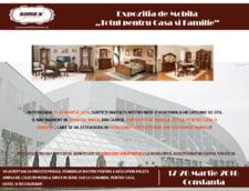 "Mobila Simex va invita la Expozitia de Mobila ""Totul pentru Casa si Familie"", 17-20 Martie 2016, Constanta"