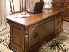 Mobila pentru birou din lemn masiv, produsa in fabricile Casa Mobila Simex