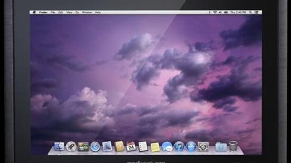 Modbook, tableta neoficiala Apple cu specificatii de MacBook Pro