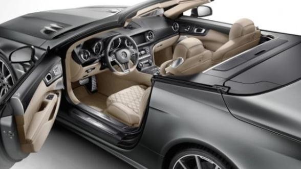Model Mercedes special la aniversarea a 45 de ani a gamei de lux sport