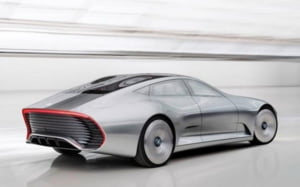 Model revolutionar de la Mercedes: masina care-si schimba designul in mers