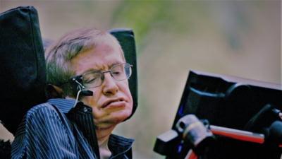 Momentul care iti arata cat de uman si ce umor avea Stephen Hawking