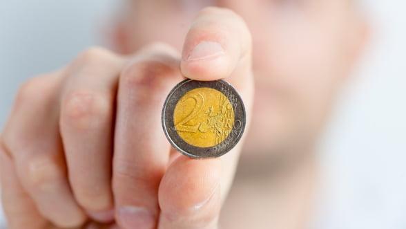 Moneda euro se bucura de un sprijin record din partea cetatenilor europeni