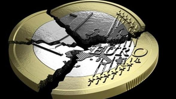 Moneda europeana, in continua depreciere