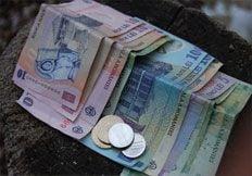 Moneda nationala stagneaza la 4,21 lei/euro