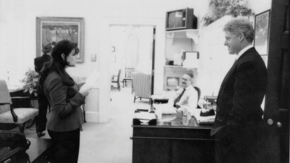 Monica Lewinsky a vorbit in premiera despre relatia cu Bill Clinton