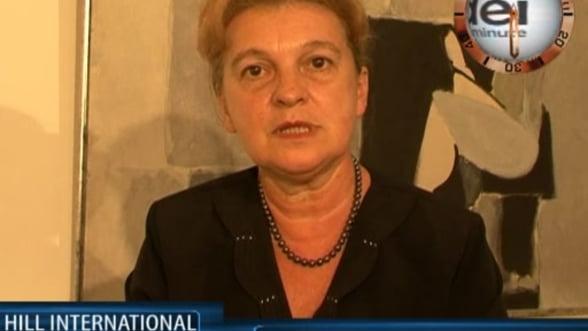 Monica Vrabiescu, managing director Hill International