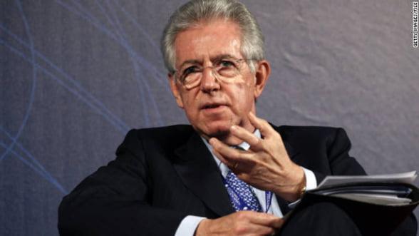 """Monti: Se intrevad """"contururile"""" iesirii din criza datoriei"""