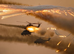 Moscova si-a gasit o noua tinta si trimite elicoptere de lupta