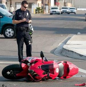 Motociclistii, implicati in peste 1.000 de accidente, anul trecut