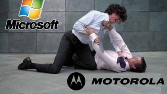 Motorola a castigat procesul patentelor impotriva Microsoft