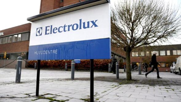 Muncitorii Electrolux, in greva