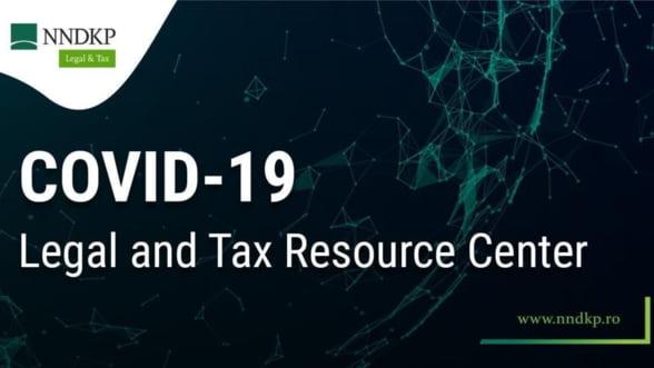 NNDKP lanseaza Centrul de Informare Legal & Tax - COVID-19