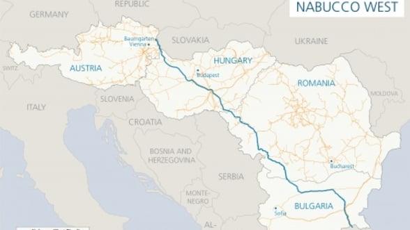Nabucco West va acoperi 50% din necesarul de gaze naturale al Romaniei