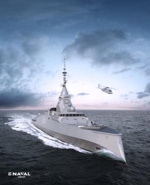 Naval Group a inceput fabricarea primelor nave de razboi complet digitalizate