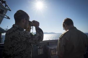 Nave NATO, inclusiv din Romania, fac exercitii in Marea Neagra de reactie rapida pentru a proteja suveranitatea nationala