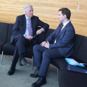 Negociatorul sef al UE pentru Brexit vine in Romania