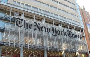 New York Times, ajuns de criza, publica reclame in prima pagina