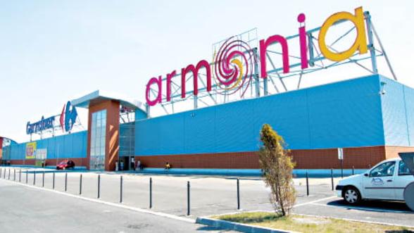 Niciun investitor nu mai vrea Armonia Mall. Centrul comercial este vandut din nou, cu 30% mai putin