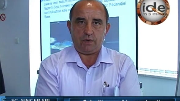 Nicolae Boruz, general manager SC.SINCER.SRL