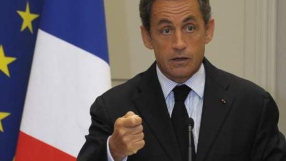 Nicolas Sarkozy respinge plasarea Greciei sub tutela bugetara de catre UE