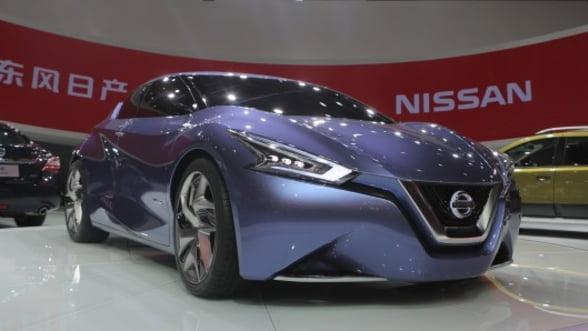 Nissan a prezentat la Shanghai noul concept Friend-ME