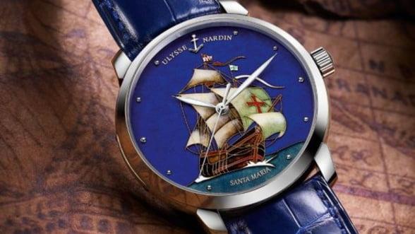 Noile ceasuri Ulysse Nardin, omagiu pentru Cristofor Columb