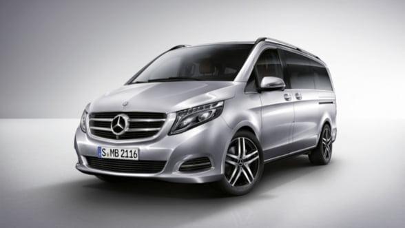 Noile modele Mercedes Clasa V au fost lansate in Romania. Cat costa