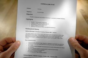 Noile reguli ale CV-ului